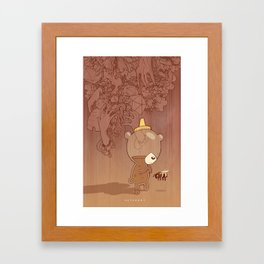 Honeyrama Framed Art Print