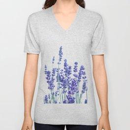 Fresh Lavender #3 #decor #art #society6 Unisex V-Neck