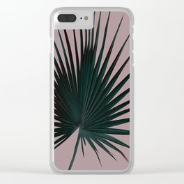Palm Leaf Edition Clear iPhone Case