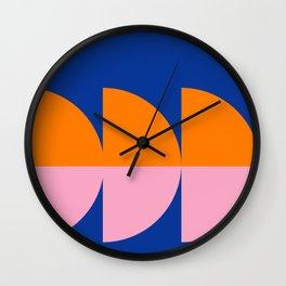 Spring- Pantone Warm color 02 Wall Clock