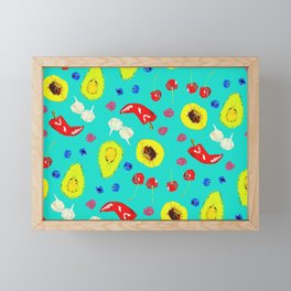 Food Medley Framed Mini Art Print