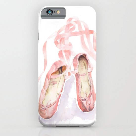 Ballet slippers iPhone & iPod Case