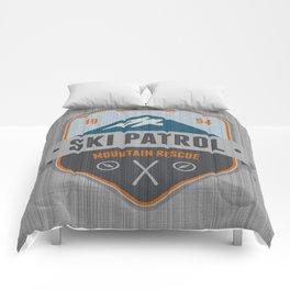 Ski Patrol Comforters