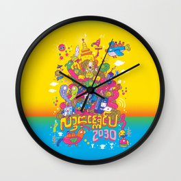 Lanna Expo 2030 Wall Clock
