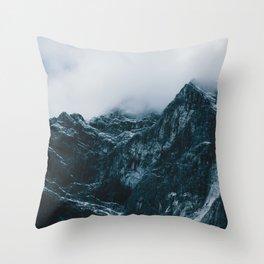Cloud Mountain - Landscape Photography Throw Pillow