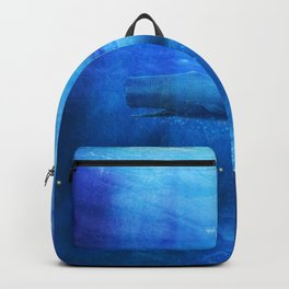 Save The Whales by Viviana Gonzalez Backpack