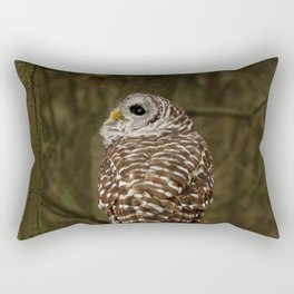 I hear the forest growing Rectangular Pillow