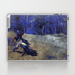 Leaning In - Motocross Racer Laptop & iPad Skin