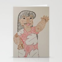 lilo and stitch Stationery Cards featuring Lilo by Julia