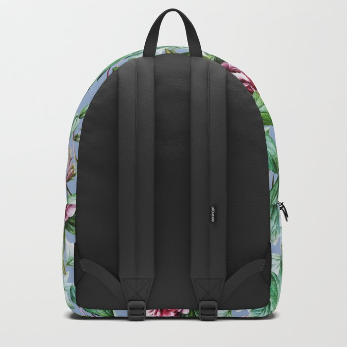 Frosty Florals #society6 #decor #buyart Backpack