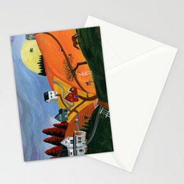 Hilly Haunting Stationery Cards