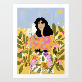 Jungle Freedom Art Print