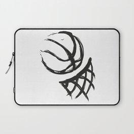 Basketball life digital painting | Basketball  lovers gift. Laptop Sleeve