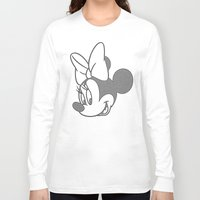 minnie mouse Long Sleeve T-shirts featuring Minnie Mouse by tshirtsz