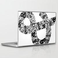 helvetica Laptop & iPad Skins featuring Helvetica Ampersand  by Phillip Kauffman