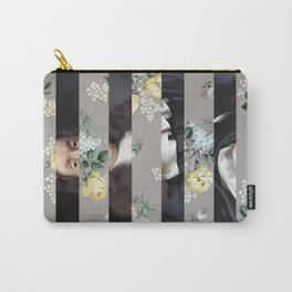 A Portrait With Bars 3 Carry-All Pouch