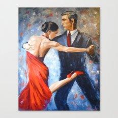 Argentine tango Canvas Print