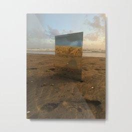 Muriwai Reflections Metal Print