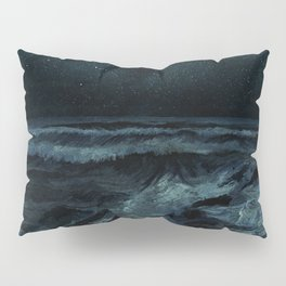 The Sea and the Night Pillow Sham