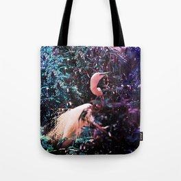 Ultraviolet Herron   Tote Bag
