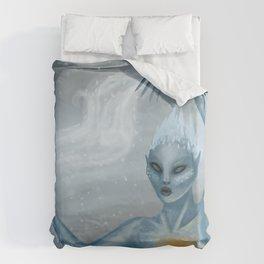 Ice Wraith Duvet Cover