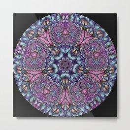 Flower Reflection Metal Print
