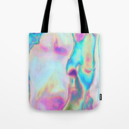 Iridescence - Rainbow Abstract Tote Bag