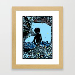 The Star Fisherman Framed Art Print