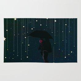 Lluvia de estrellas Rug
