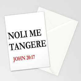 noli me tangere Stationery Cards