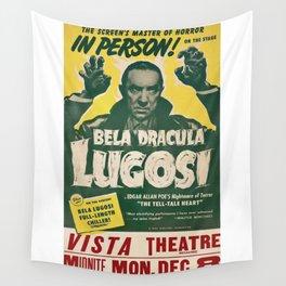 Dracula, Bela Lugosi, vintage poster Wall Tapestry