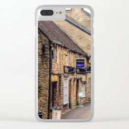 Downtown In The Cotswolds Clear iPhone Case