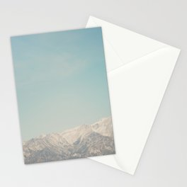 Mount Whitney, looks like it's painted on! Stationery Cards