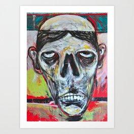 Bald Citizen Art Print