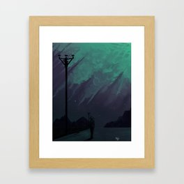 Sensitive Framed Art Print