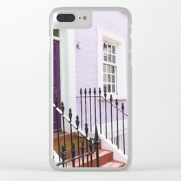Notting hill Clear iPhone Case