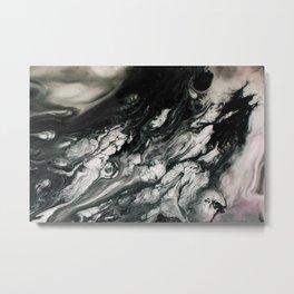 LUCID FLUID // 2 Metal Print