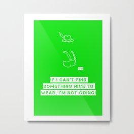 The Grinch 3 Metal Print