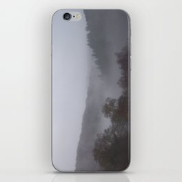 Panoramic photograph of West Devon valley iPhone Skin