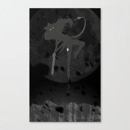 The Black - Black Belladonna Canvas Print