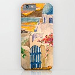 santorini breeze, october 2015 iPhone Case