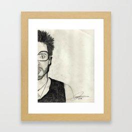 My Other Half Framed Art Print