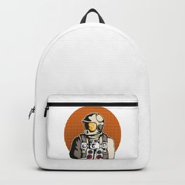 Astronaut Outer Space Travel Astronomy Science Gift Backpack