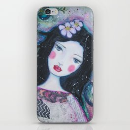 Apple Blossom Snow White iPhone Skin