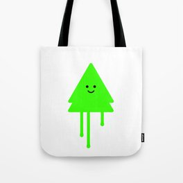 Happy Xmas Tree Tote Bag