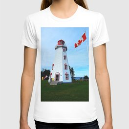 Lighthouse Panmure Island T-shirt