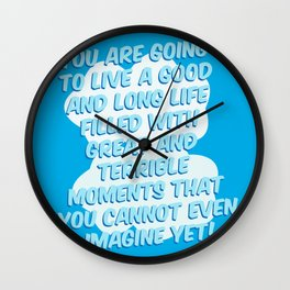 You Cannot Even Imagine Wall Clock
