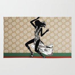 Guci Pattern dance Rug