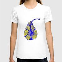 pear T-shirts featuring Pear by Bonnie J. Breedlove