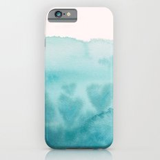 Waves of Love Aqua Slim Case iPhone 6s